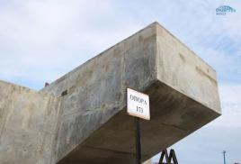 Россия возвела первую опору Керченского моста